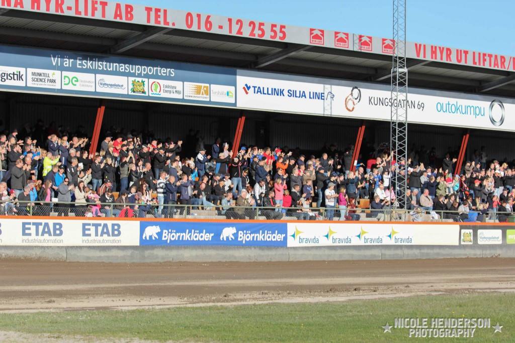 Eskilstuna Motorstadion, Publik